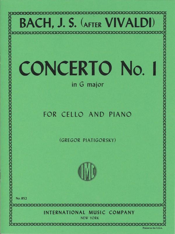 Bach - Concerto in G Major