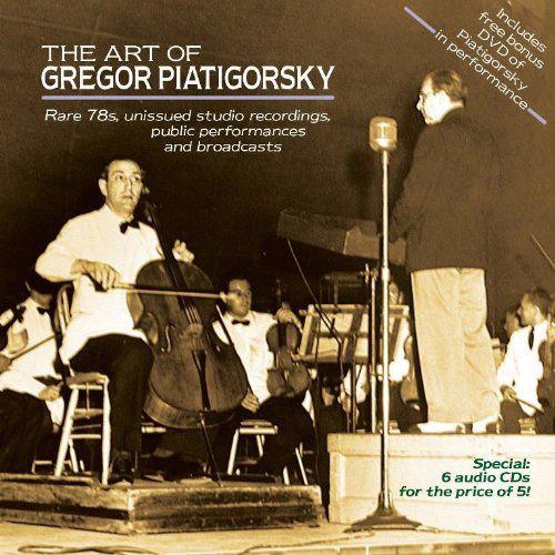 CD.The Art of Gregor Piatigorsky.Cover