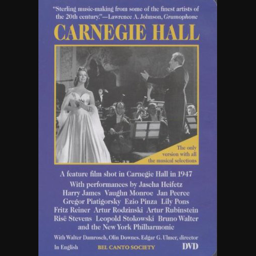 DVD.Carnegie Hall.Cover