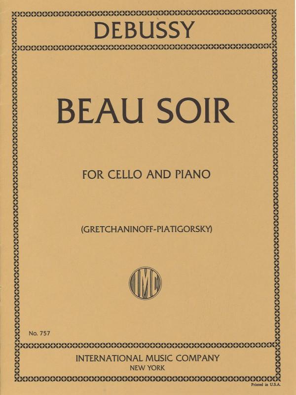 Debussy - Beau Soir