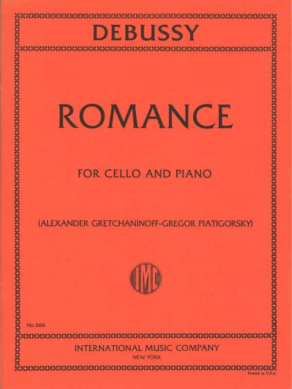Debussy - Romance