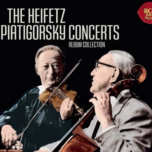 The HeifetzPiatigorsky Concerts
