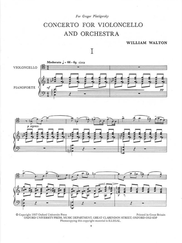 Walton - Cello Concerto 2